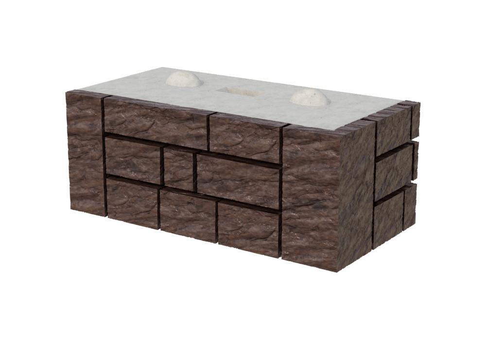Односторонний блок MaxiBlock KK/1R