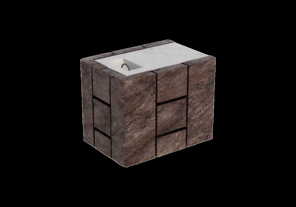 Блок двухсторонний FreeBlock CВ-2/2
