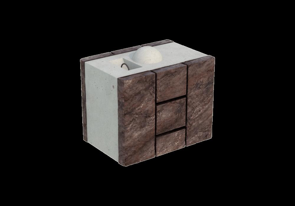 Блок двухсторонний FreeBlock CН-1/2