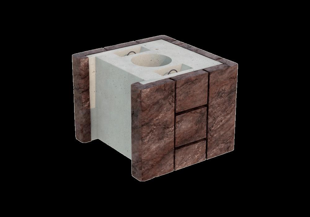 Блок колонны двухсторонний FreeBlock МК-1