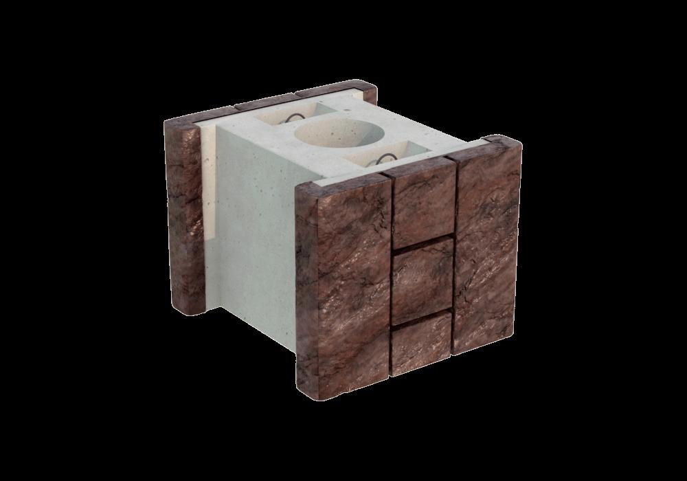 Блок колонны двухсторонний FreeBlock МК-2
