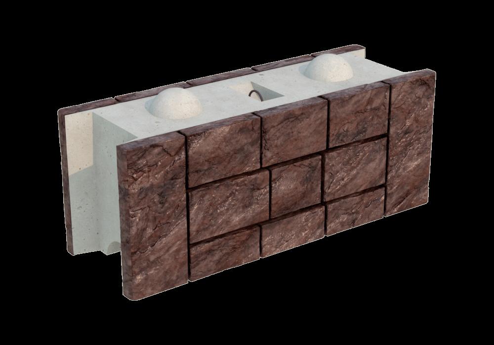 Блок радиусный двухсторонний FreeBlock Р-1