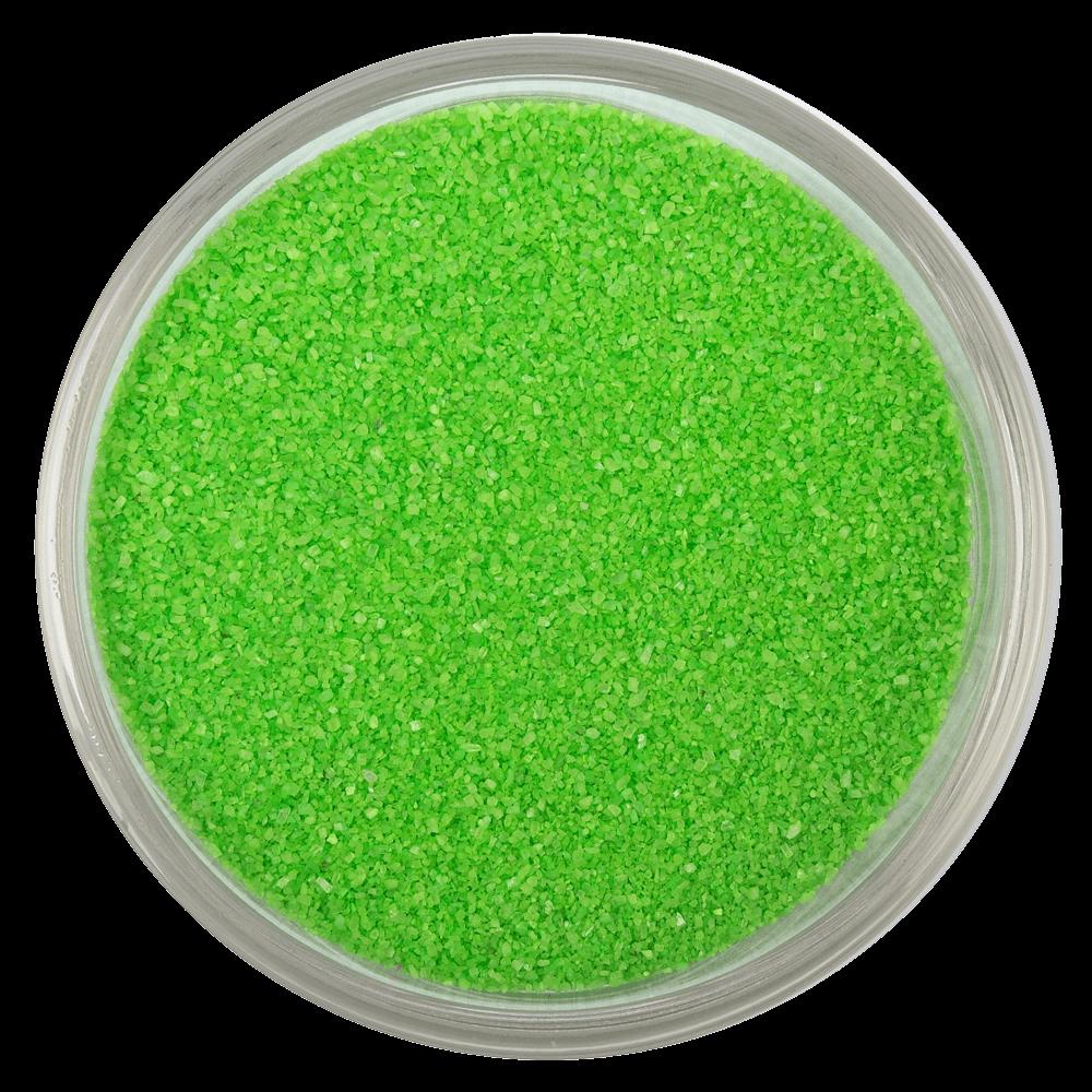 Цветная мраморная крошка RAL 6018, Желто-зелёный
