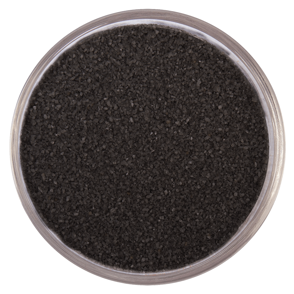Цветная мраморная крошка RAL 9004/9011, Черный