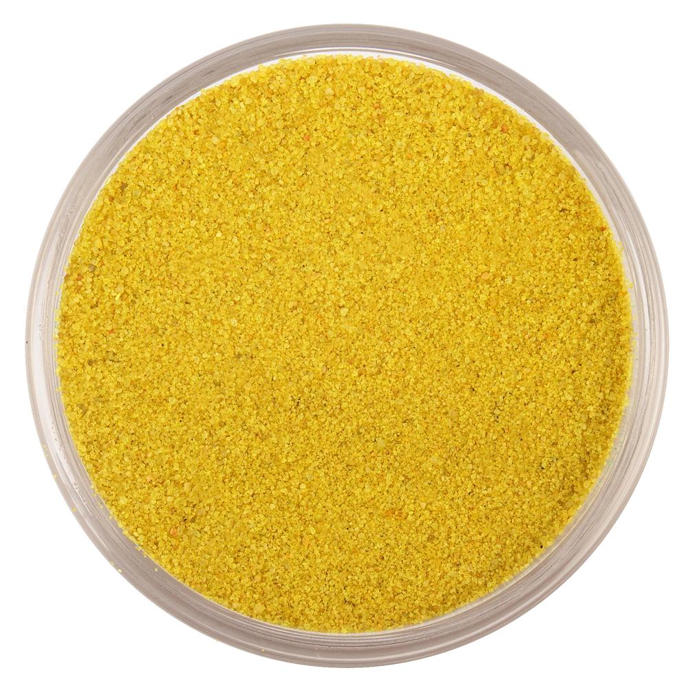 Цветной песок серии Rio RAL 1012, Лимонно-желтый