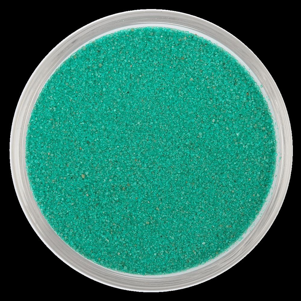 Цветной песок серии Rio RAL 6032, Зелёный