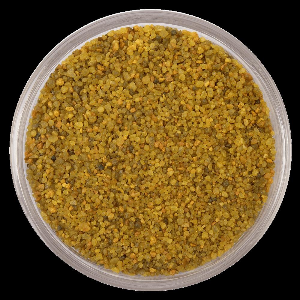 Цветной песок серии Carreras RAL 1027, Кари желтый