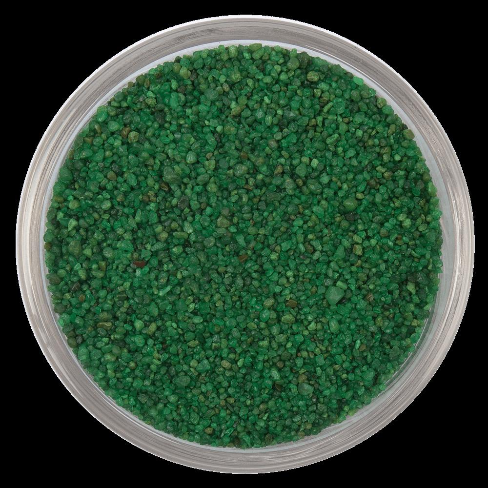 Цветной песок серии Carreras RAL 6010, Травяной зеленый