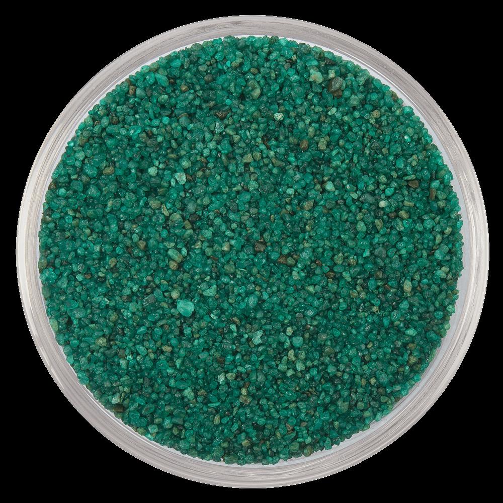 Цветной песок серии Carreras RAL 6026, Опаловый зеленый