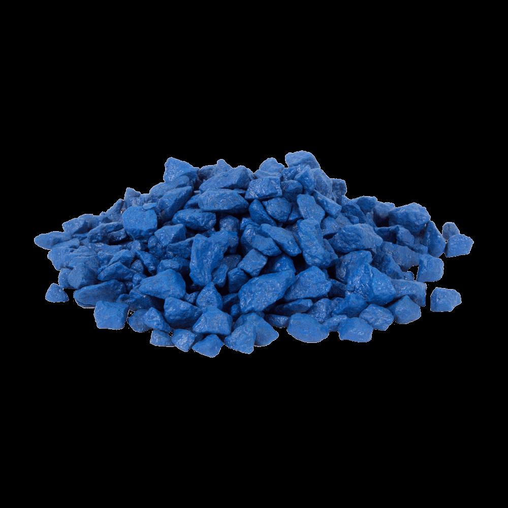 Цветной щебень RAL 5005, Сигнальный синий