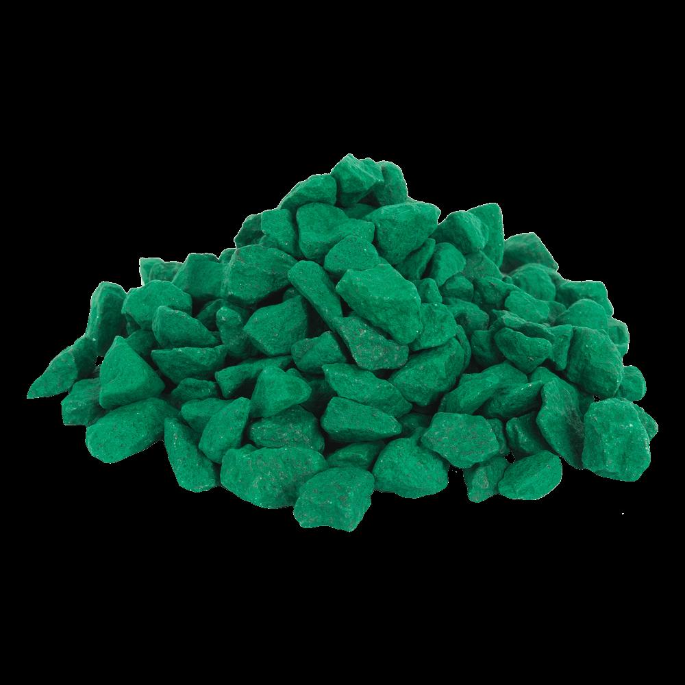 Цветной щебень 6016, Бирюзово-зелёный