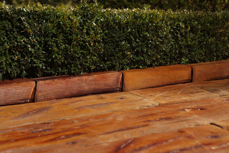 Бордюр деревянный Plinto