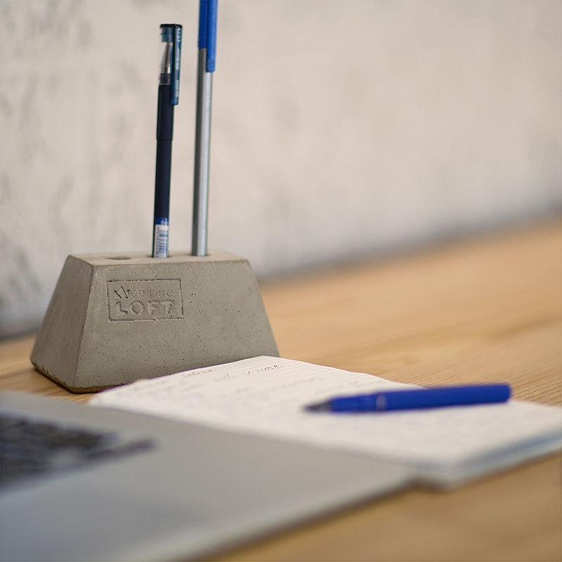 Подставка для ручек Block Stone