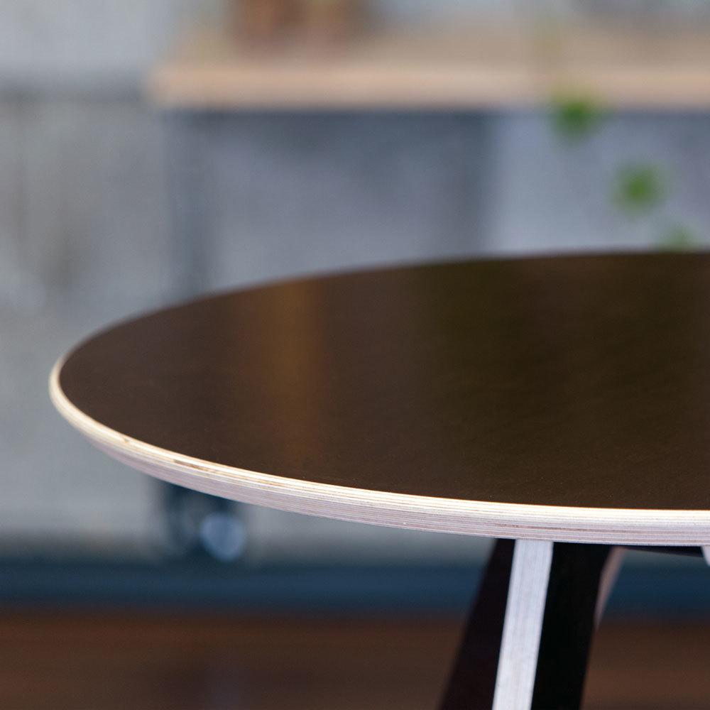 Стол ламинированный круглый (комплект)