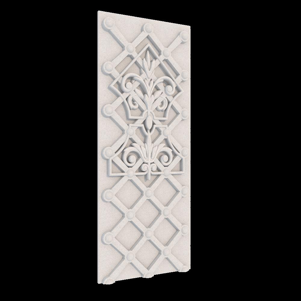 Декор Плетение, 500 x 195 x 21 мм