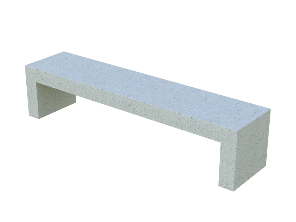 Скамья бетонная Bench (GRAY HOLYSTONE)