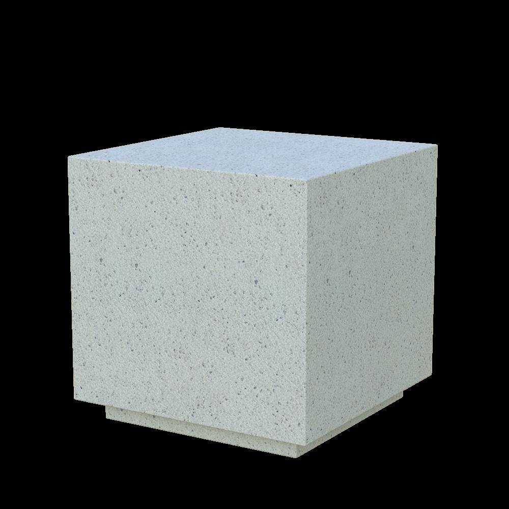 Бетонное модульное сиденье Cube (GRAY HOLYSTONE)