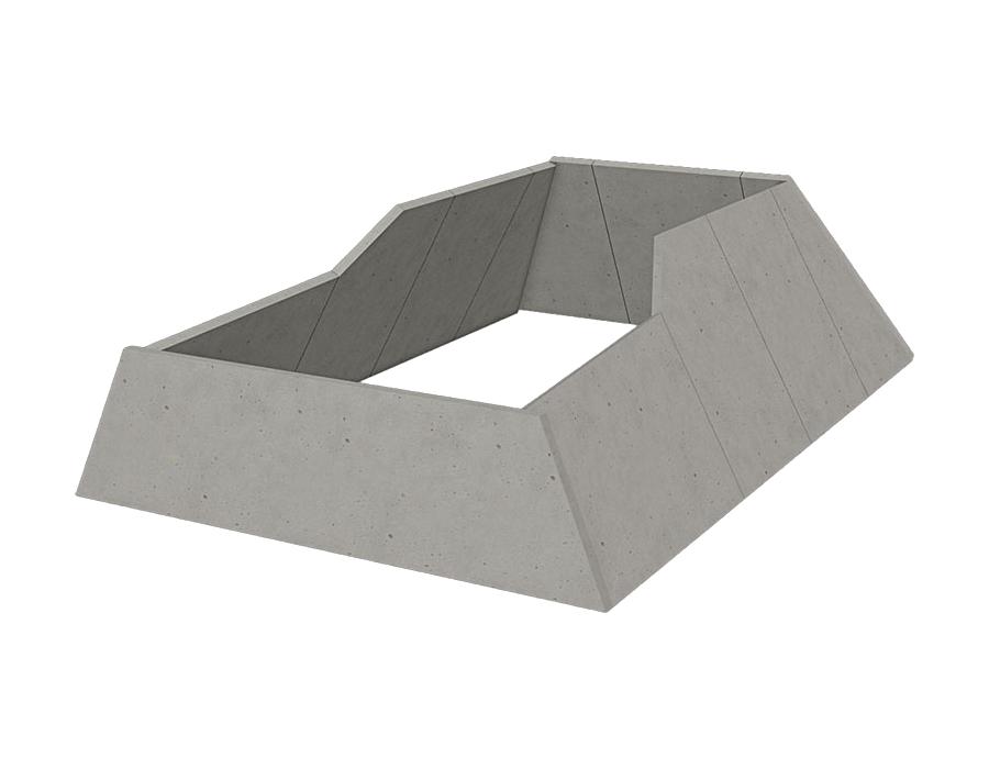 Комплект тупиковых упоров 4 м