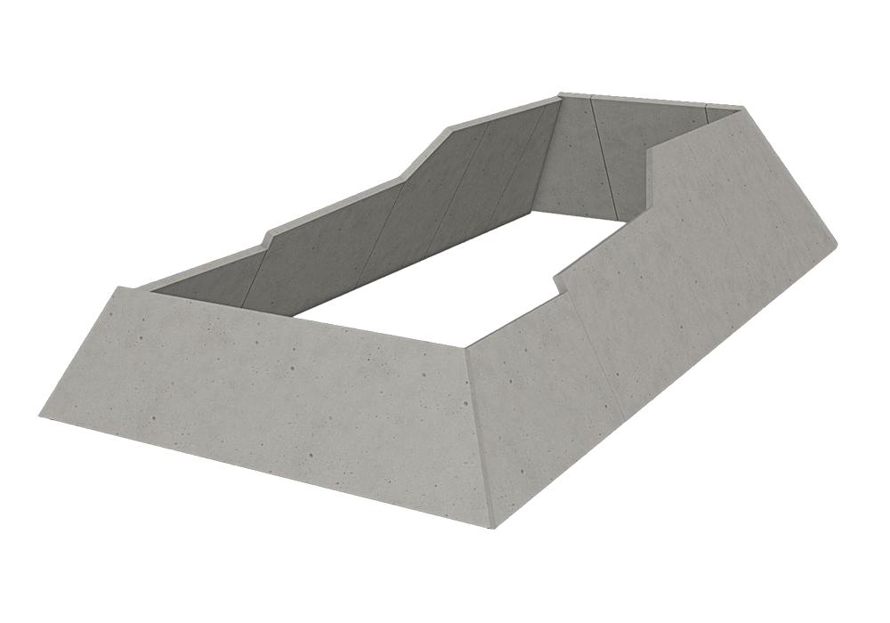 Комплект тупиковых упоров 6 м