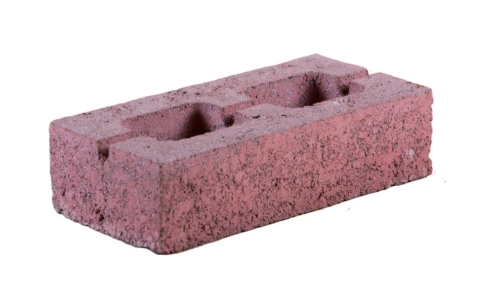 Вибропрессованный кирпич пустотелый (керамзитобетон), 250x120x65 мм
