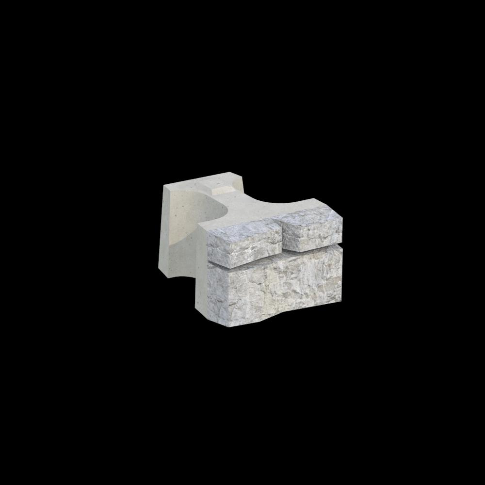 Блок односторонний MiniBlock MW-1/2