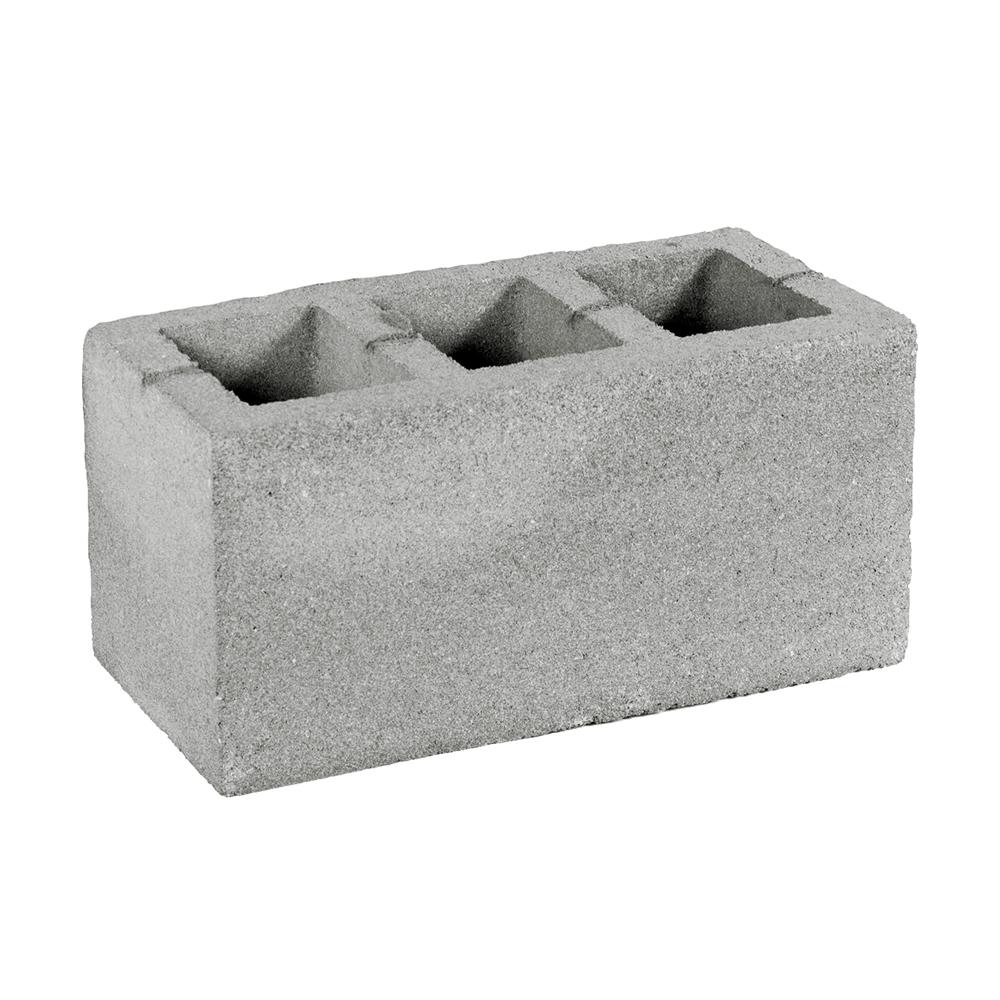 Пустотный бетоноблок M25, 390х190х188 мм