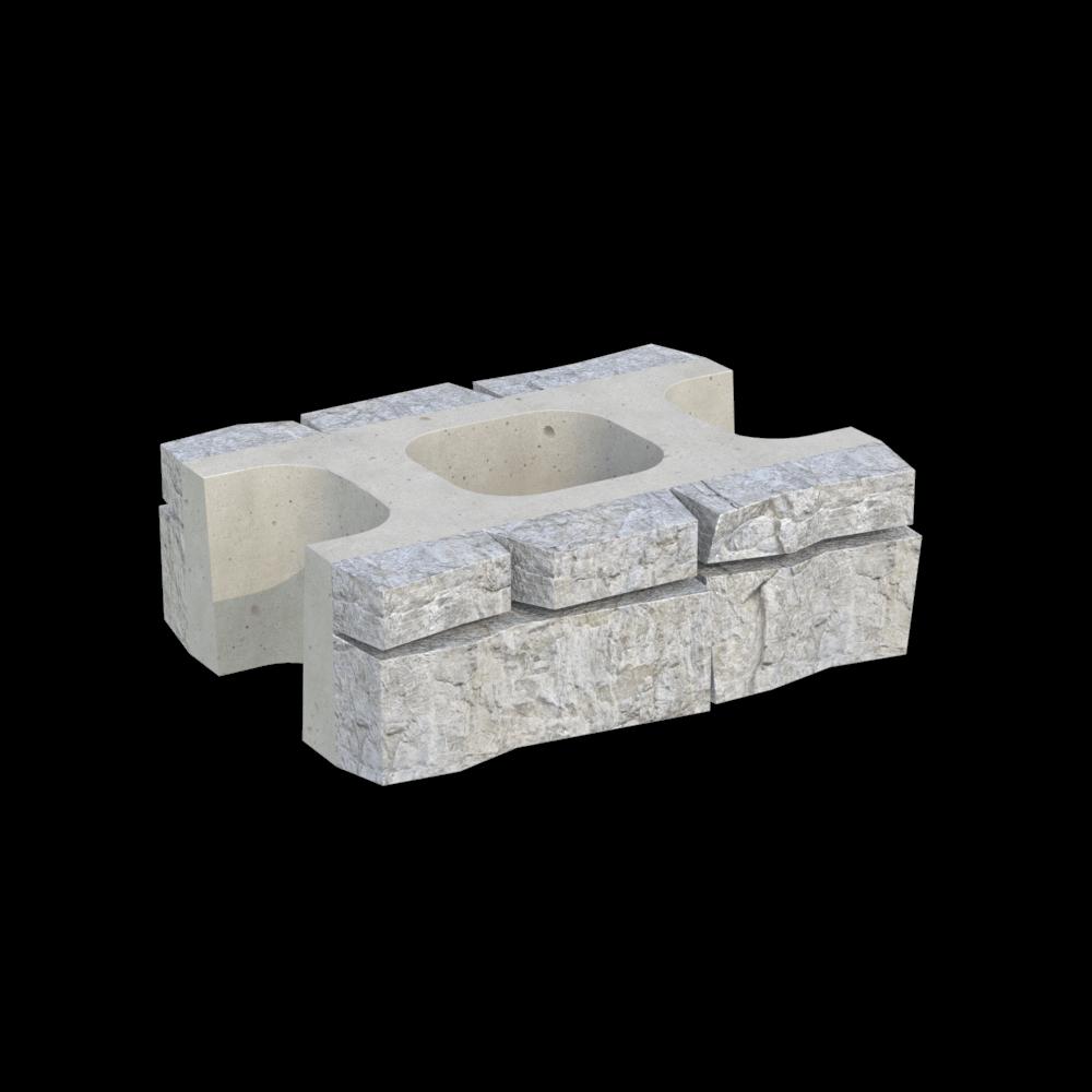Блок двухсторонний MiniBlock MW-2