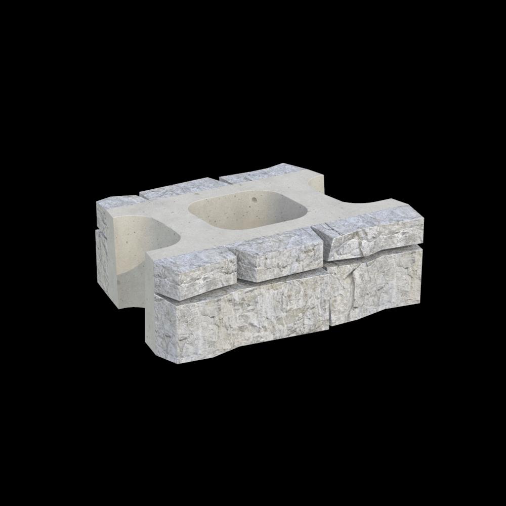 Блок двухсторонний поворотный MiniBlock MW-2R