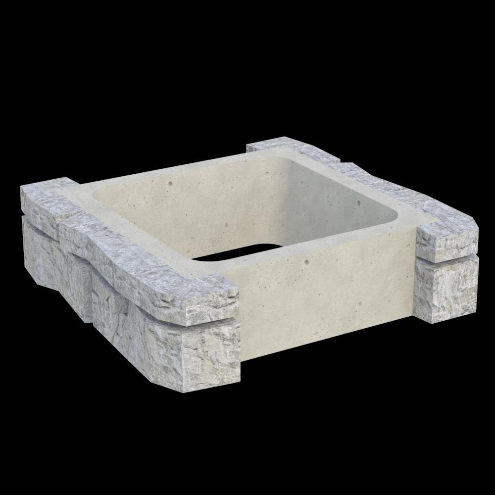 Блок колонны промежуточный MWC-3