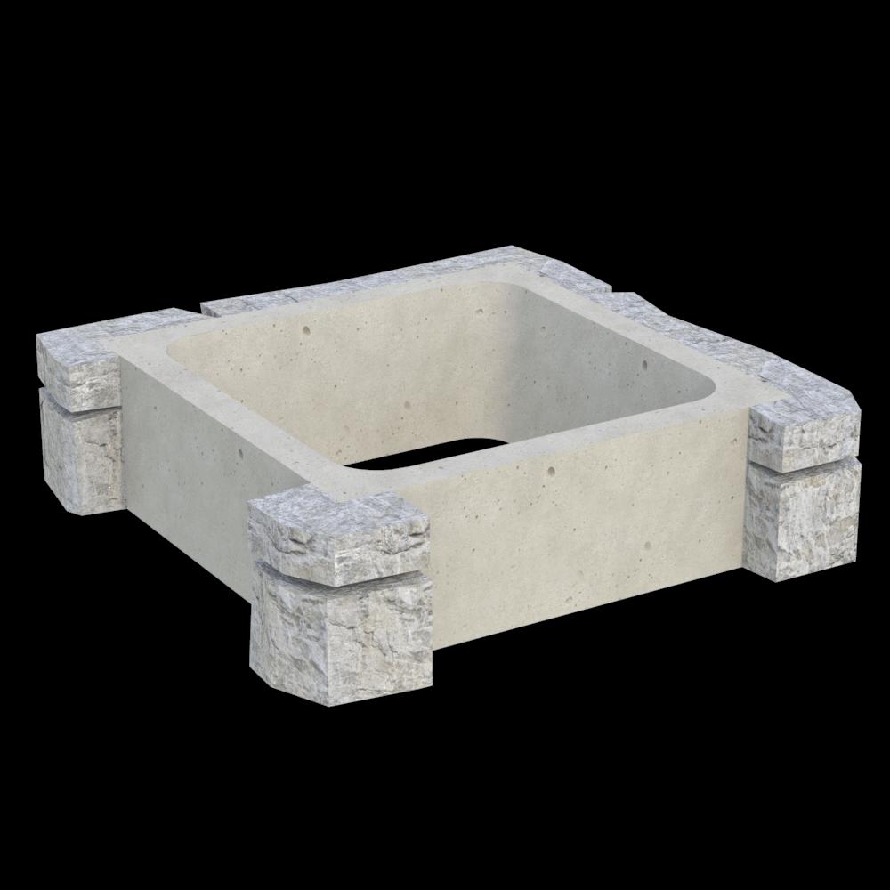 Блок колонны угловой MWC-4