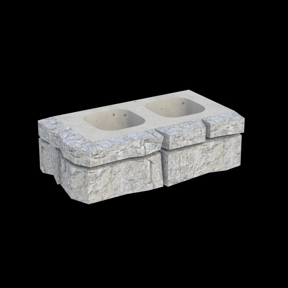 Блок угловой MWR-1