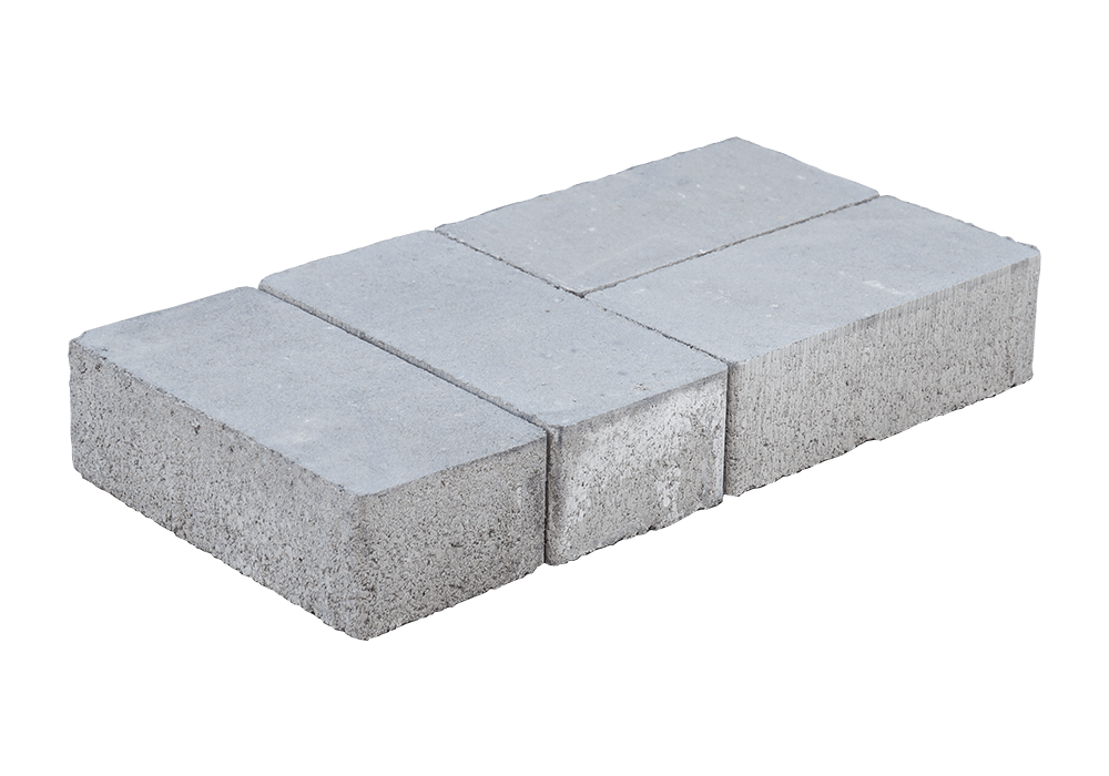 Тротуарная плитка «Брусчатка без фаски» (Кирпичик), 60 мм main image