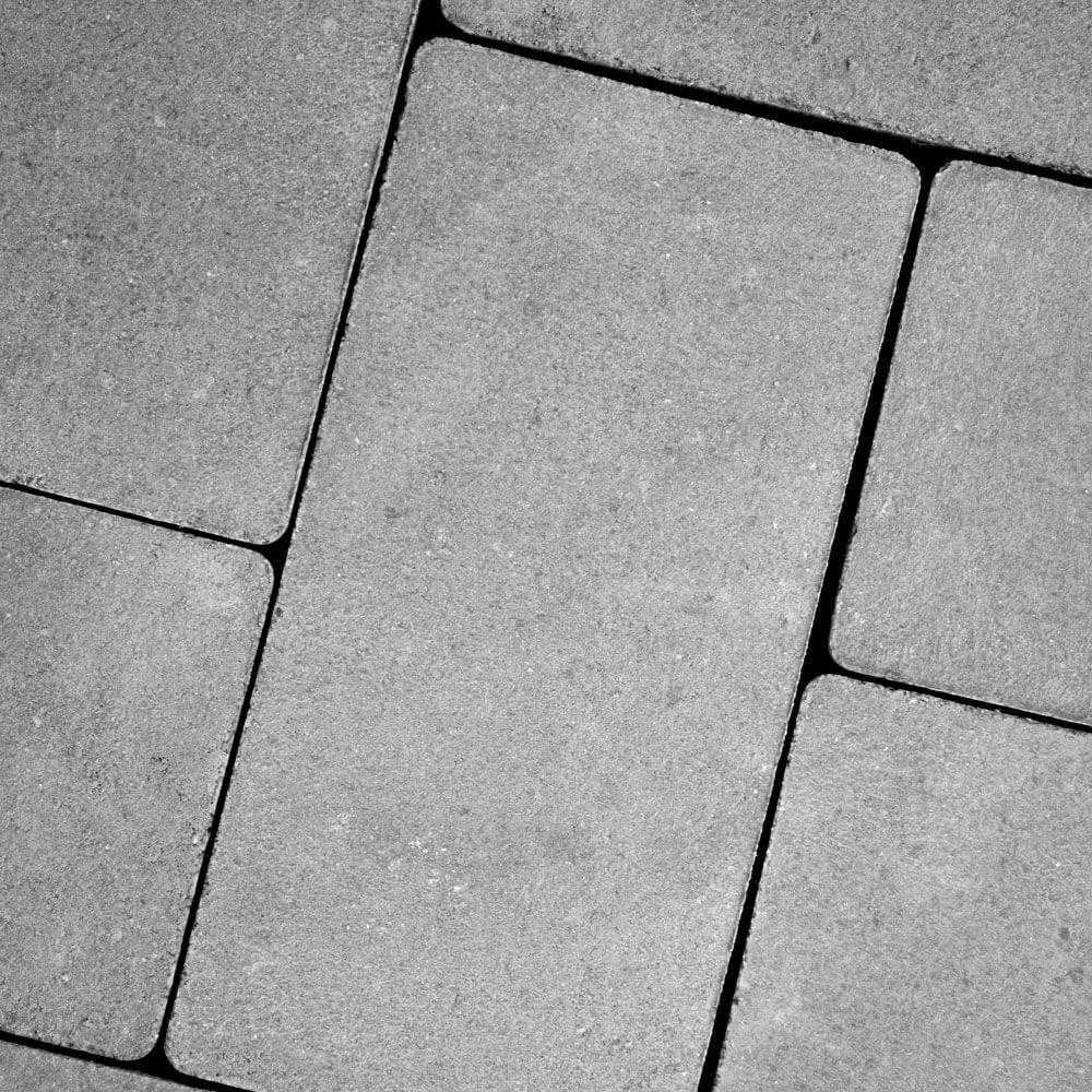 Тротуарная плитка «Брусчатка без фаски» (Кирпичик), 60 мм image 1