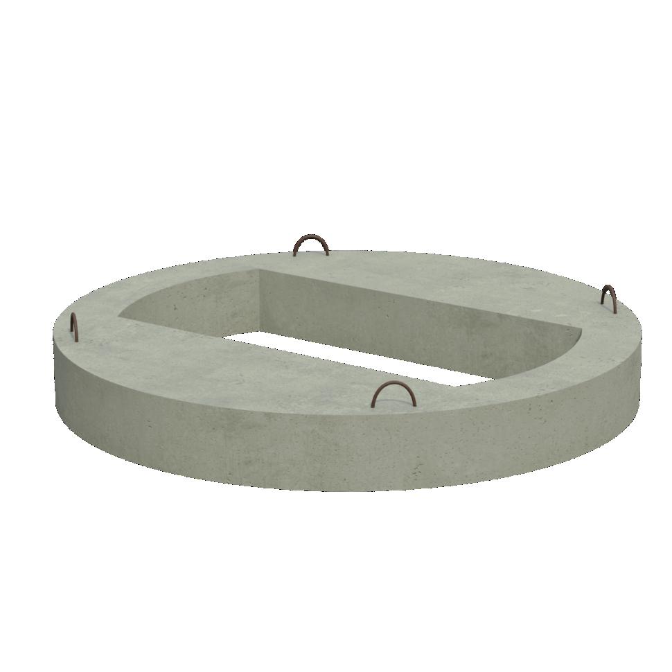 Плита перекрытия колодца  КЦП 2-7 main image